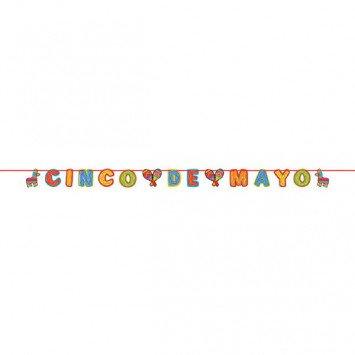 Cinco De Mayo Glitter Banner