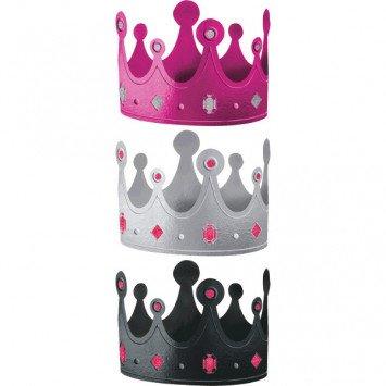 Black & Pink Crowns
