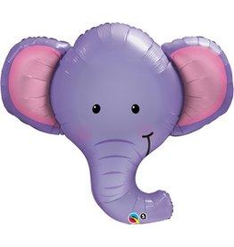 "Ellie the Elephant Shape 39"" Mylar Balloon"