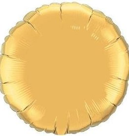 "Mylar Gold Round 18"" Balloon"