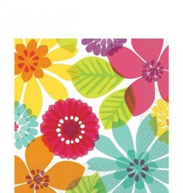 Day In Paradise Lunch Napkins 16pc