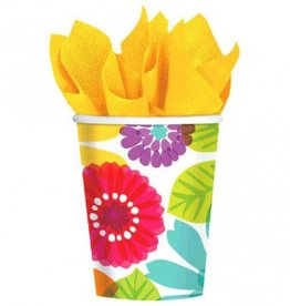 Day In Paradise Paper Cups 8ct