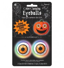 Colour Changing Eyeballs