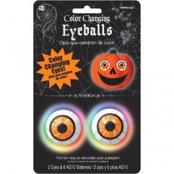 Colour Changing Eyeballs