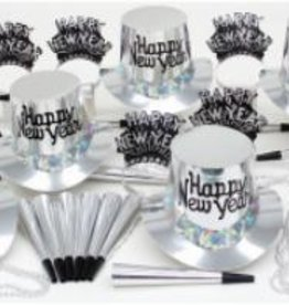 New Year Silver Regal Party 10 Kit