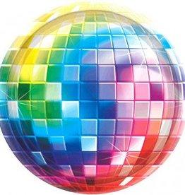 """Disco Fever 10"""" Plate 8pc"""