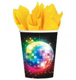 Disco Fever Paper Cups 8ct