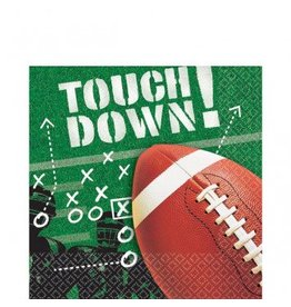 Football Frenzy Luncheon Napkins
