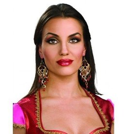 Earring Bollywood Jeweled