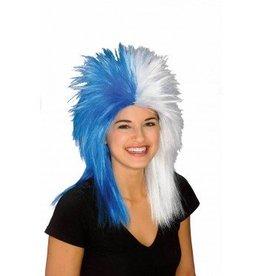Fanatics Blue/White Wig