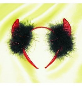 Devil Glitter Headband