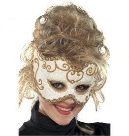 White Baroque Mask