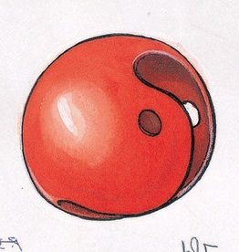 Clown Red Plastic Nose