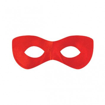 Eye Mask Super Hero Red