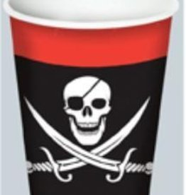 Pirate Beverage 8oz. Cups Hot/Cold