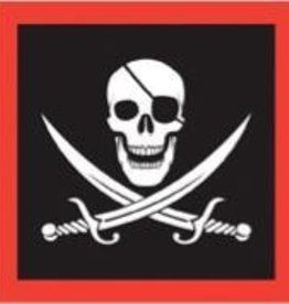 Pirate Beverage Napkins 16pk