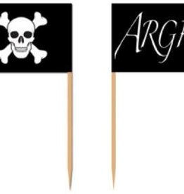Pirate Flag Picks (50)