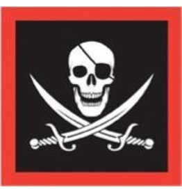 Pirate Luncheon Napkins 16pk