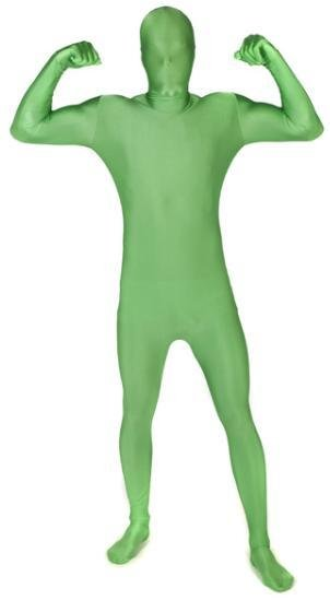Adult Costume Morphsuit Green Medium