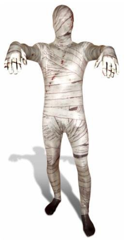 Adult Costume Morphsuit Mummy Medium