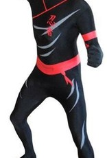 Adult Costume Morphsuit Ninja Medium