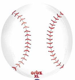 "Bubble 16"" Baseball Orbz Balloon"