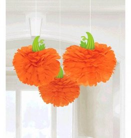 Modern Halloween Pumpkin Fluffies