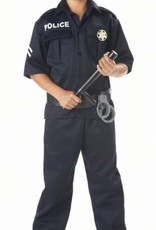 Children's Costume Police Large