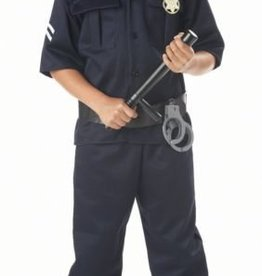 Child Costume Police Large