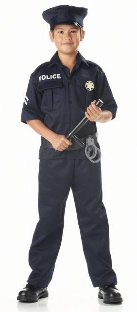 Children's Costume Police Large