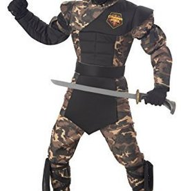 Children's Costume Special Ops Ninja Large (10-12)
