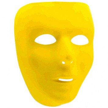 Yellow Full Face Mask