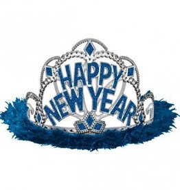 New Year Tiara Blue