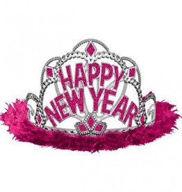 New Year Tiara Pink