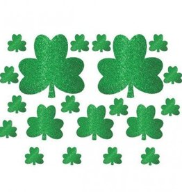 Glitter Shamrock Mega Value Pack Cutouts
