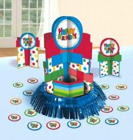 Happy Birthday Boy Table Decorating Kit