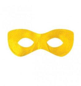 Super Hero Eye Mask Yellow