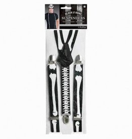 Suspenders Black/Bones