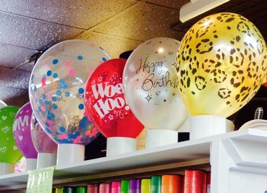 "Printed Balloons 11"" Round"