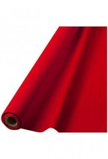 """Apple Red Solid Table Roll, 40"""" x 100'"""