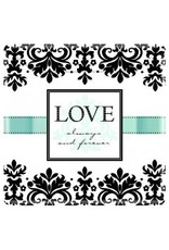 """Always & Forever 10"""" Square Plates (8)"""