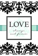 "Always & Forever 7"" Square Plates (8)"