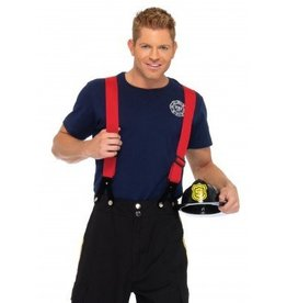 Men's Costume Fire Captain XLarge