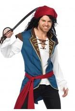 Men's Costume Pirate Scoundrel Medium/Large