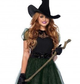 Women's Costume Darling Spellcaster Large