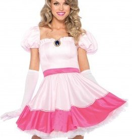 Women's Costume Pink Princess Medium