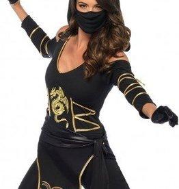 Women's Costume Stealth Ninja Medium