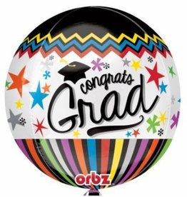 Bubble Congrats Grad Balloon
