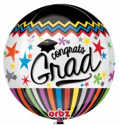 Bubble Congrats Grad Balloon