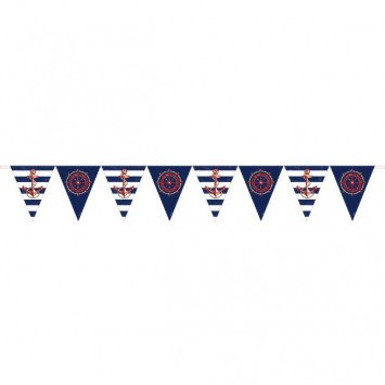 Anchors Aweigh Pennant Banner